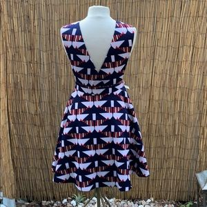 Fun Nautical Mini Dress